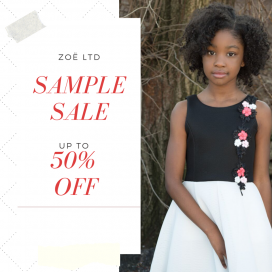 5276b1f6c0 Zoë Ltd Sample Sale Take up to 50% discount on kids  apparel at the .